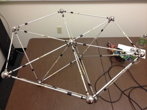 Completed truss using MLE.